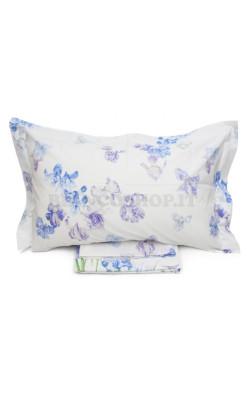 Completo lenzuola matrimoniale Mirabello Carrara - Iris Bianco