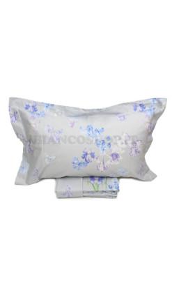 Completo lenzuola matrimoniale Mirabello Carrara - Iris