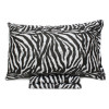 completo lenzuola zebrato